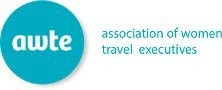 AWTE association of women travel executives logo.